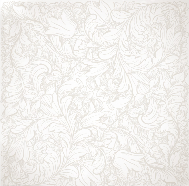 free vector Floral wallpaper vector