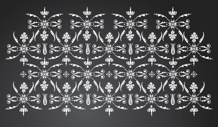 free vector Floral Wallpaper