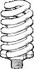 free vector Flourescent Bulb clip art