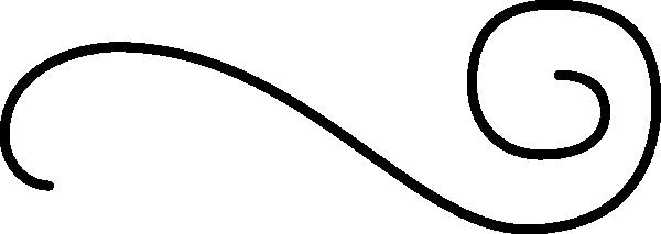 flourish one horizontal clip art free vector 4vector rh 4vector com free flourish clipart downloads free corner flourish clipart