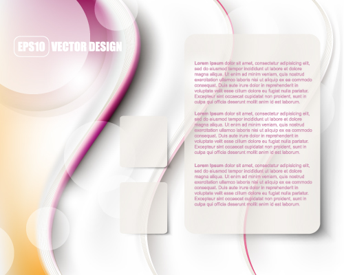 free vector Flow lines and elegant background 04 vector