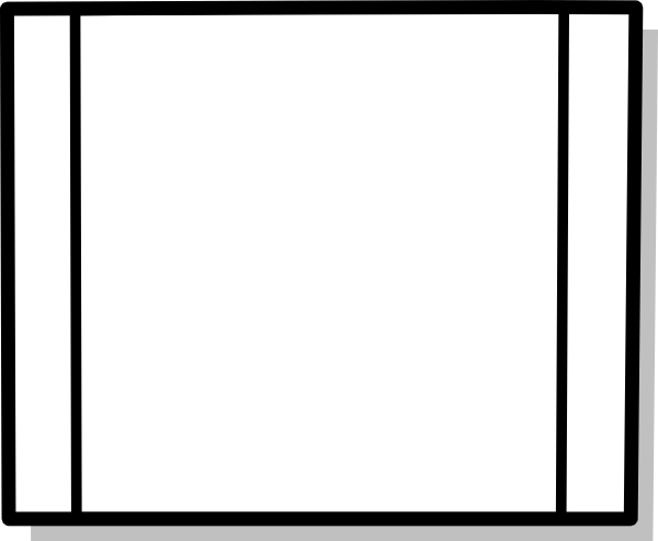 free vector Flowchart Subroutine Icon Symbol clip art
