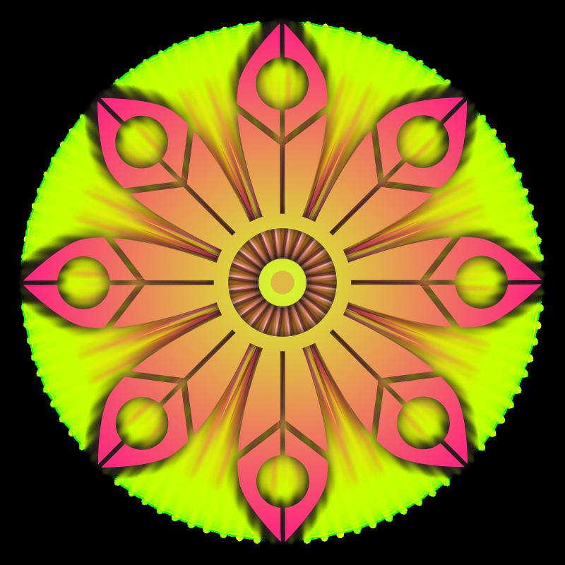 free vector Flower Burst