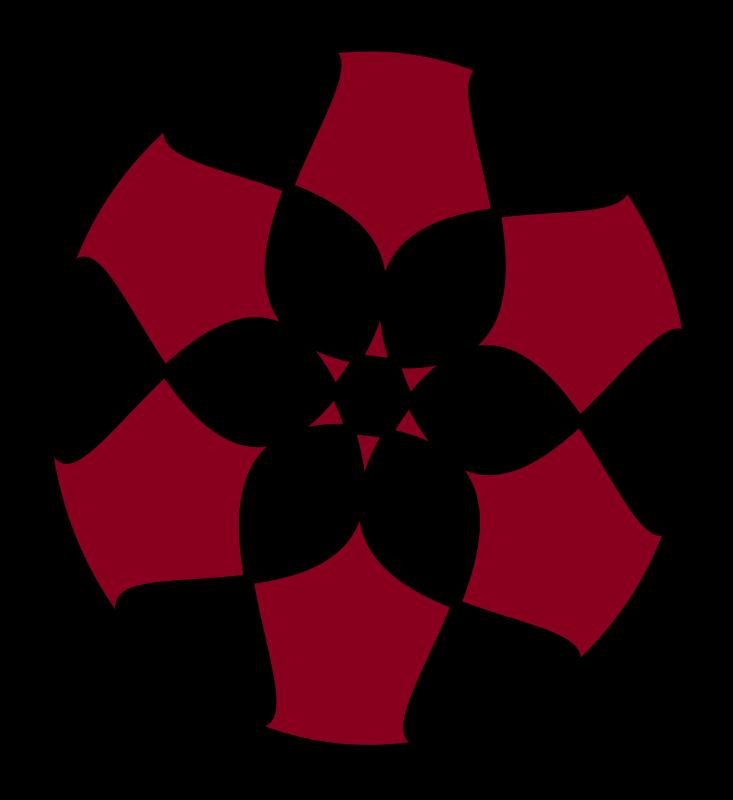 free vector Flower Button