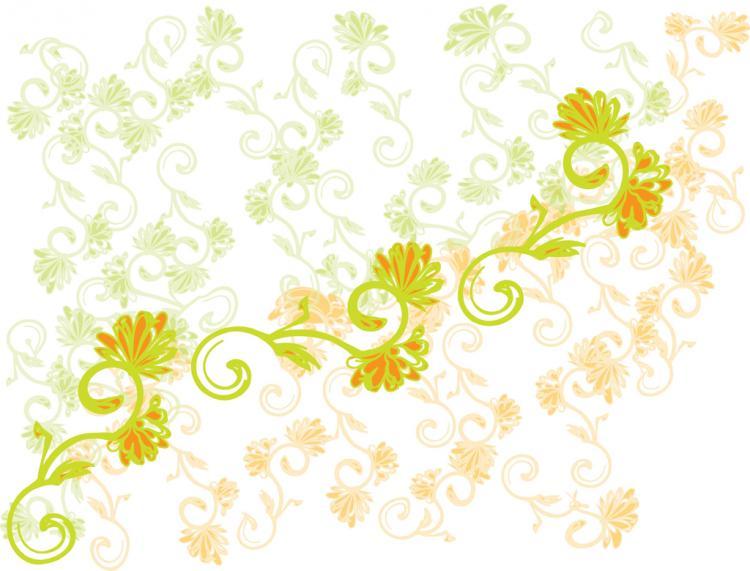 free vector Flower Design