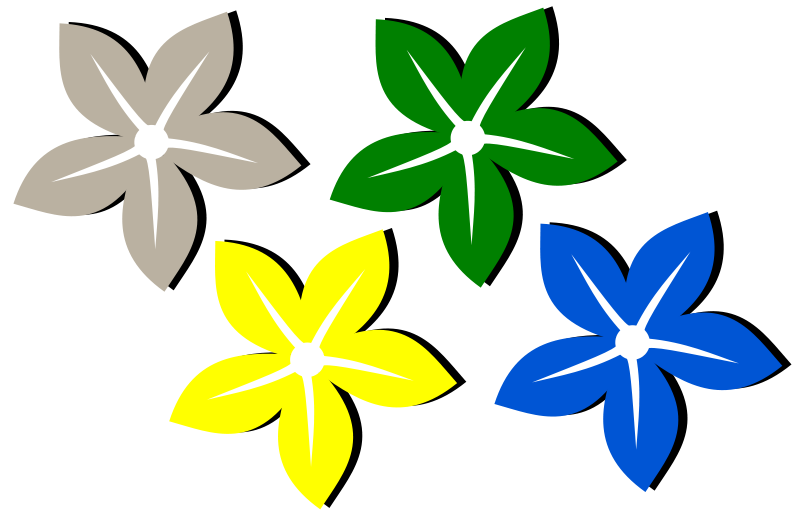 free vector Flower - Flor