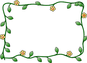 free vector Flower Frame clip art