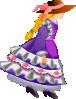 free vector Flower Girl clip art