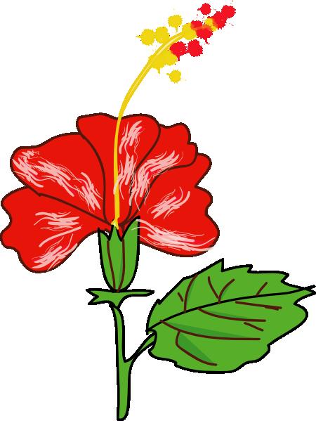 free vector Flower Hibiscus clip art