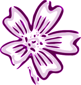 free vector Flower Of Chicora clip art