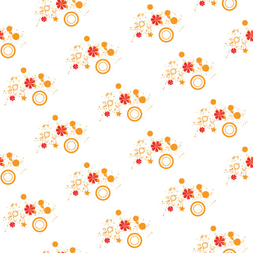 free vector Flower pattern vector