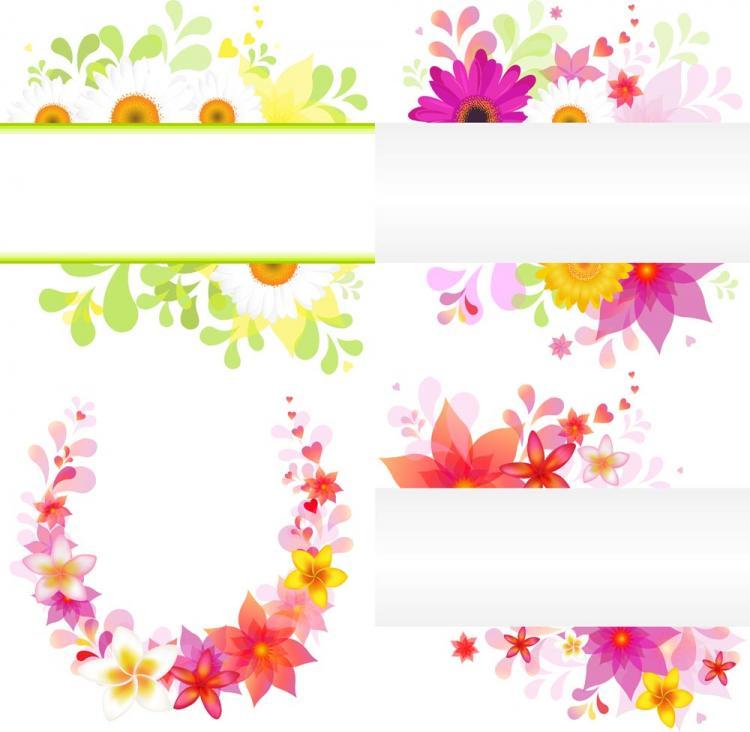 free vector Flower pattern vector