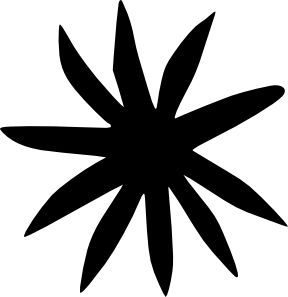free vector Flower Silhouette clip art
