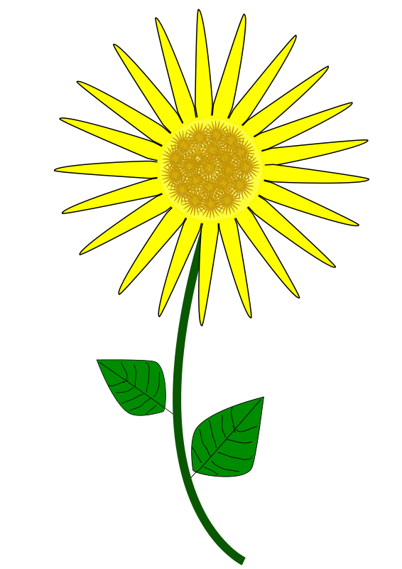 free vector Flower, Sunflower