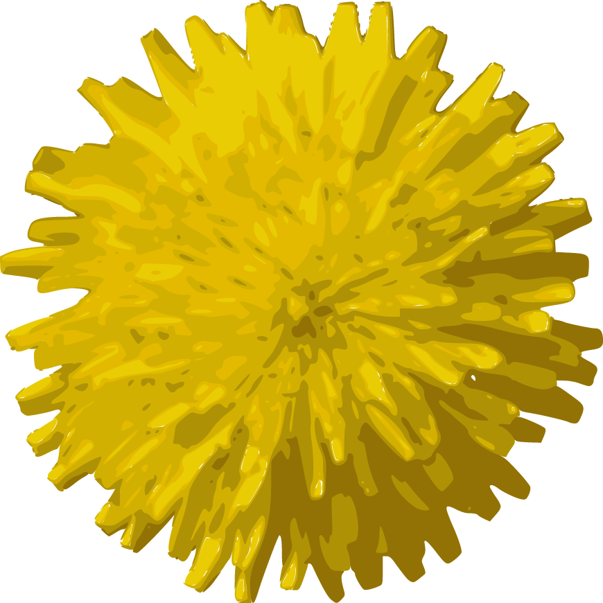 yellow flower vector png - photo #29