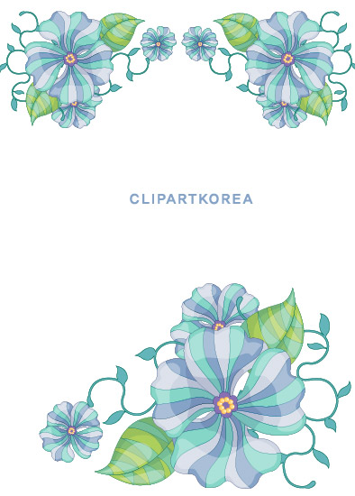 free vector Flowers, fruit and butterfly lace