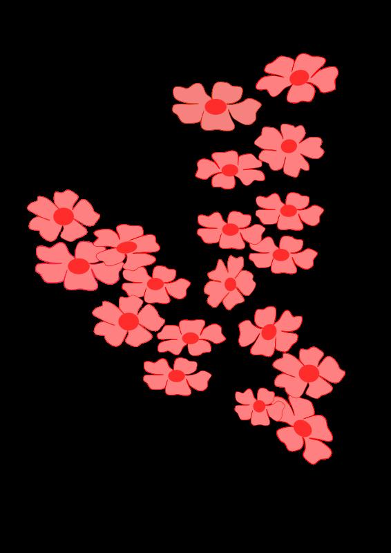Flowers Sakura2 Free Vector / 4Vector