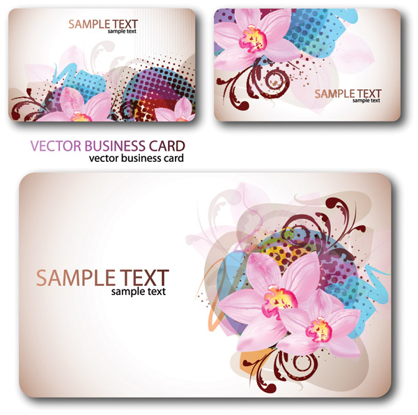 free vector Flowers vector background