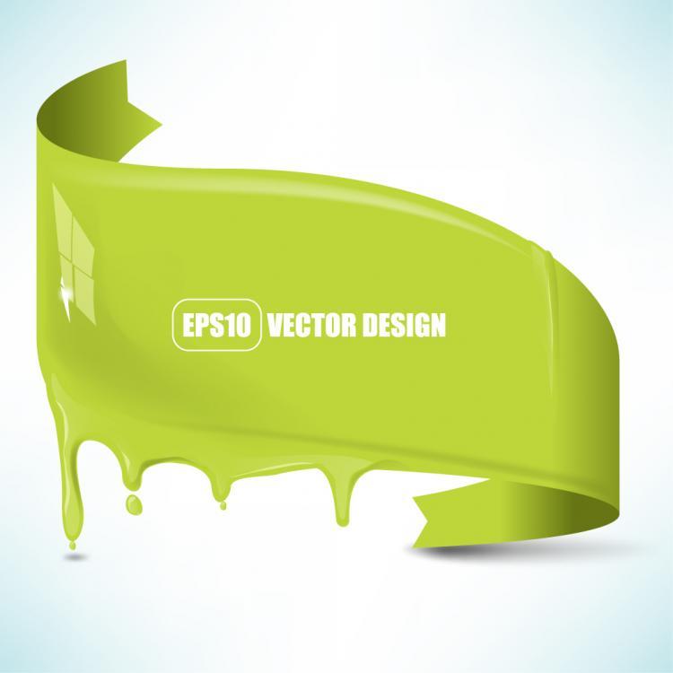 free vector Flowing pigment 02 vector