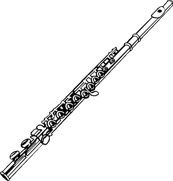 Flute clip art Free Vector / 4Vector
