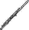 free vector Flute In C clip art