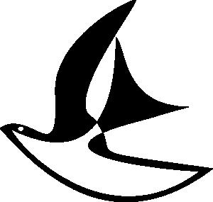 free vector Flying Pigeon Figure clip art