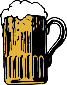 free vector Foamy Mug Of Beer clip art