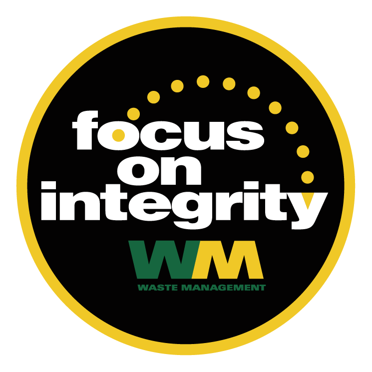 free vector Focus on integrity