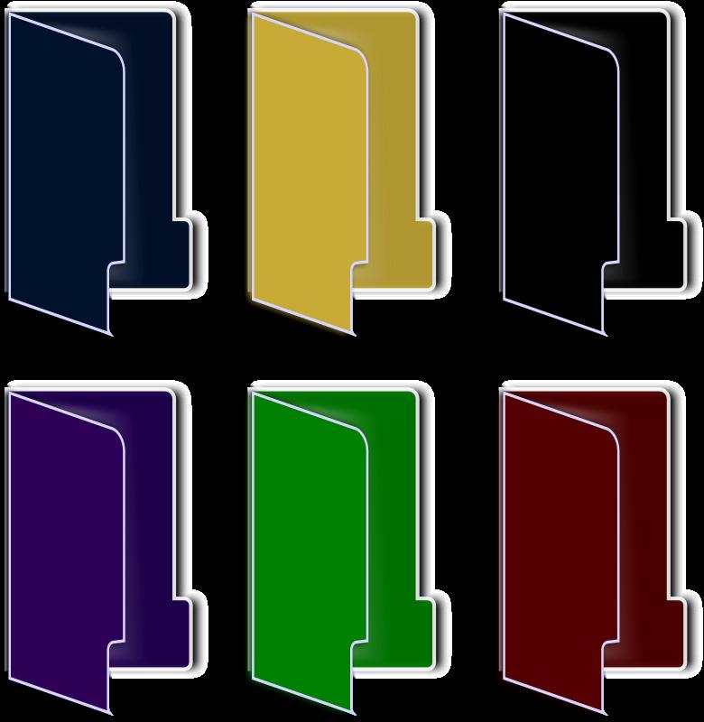 free vector Folder Icon(color)