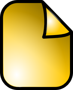 free vector Folder Paper Sheet Icon clip art