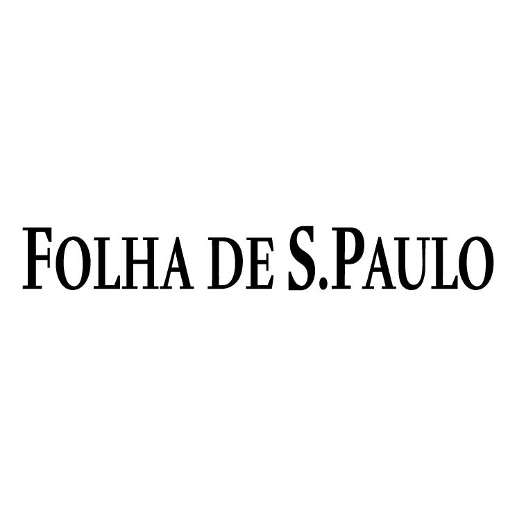 free vector Folha de sgo paulo