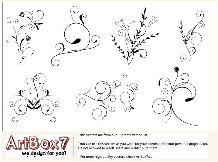 free vector Foliages by Artbox7.com
