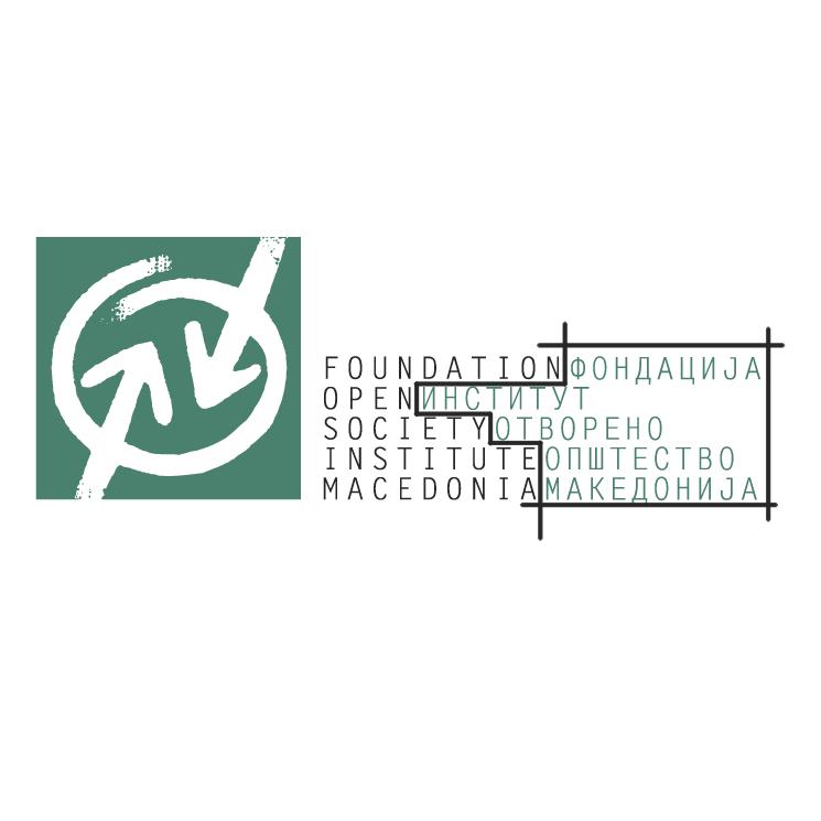 free vector Fondacija institut otvoreno opstestvo