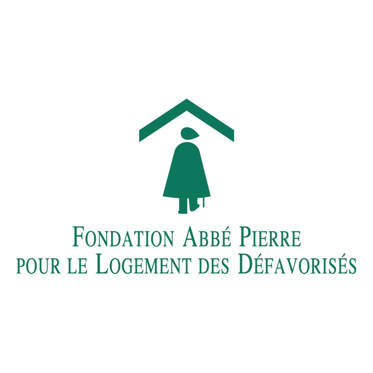 free vector Fondation abbe pierre