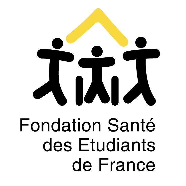 free vector Fondation sante de etudiants de france
