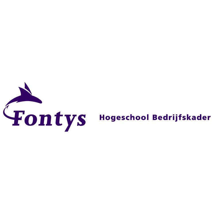free vector Fontys hogeschool bedrijfskader