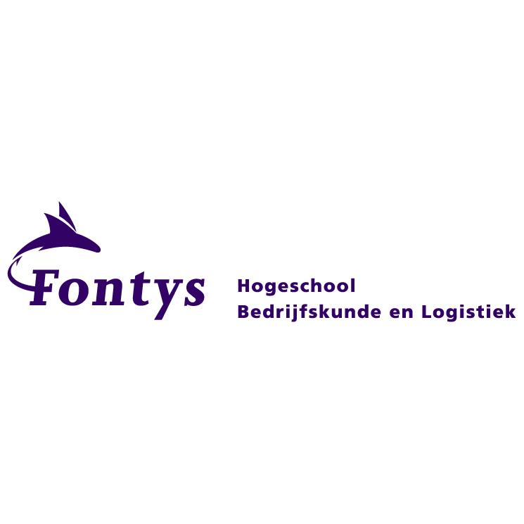 free vector Fontys hogeschool bedrijfskunde en logistiek