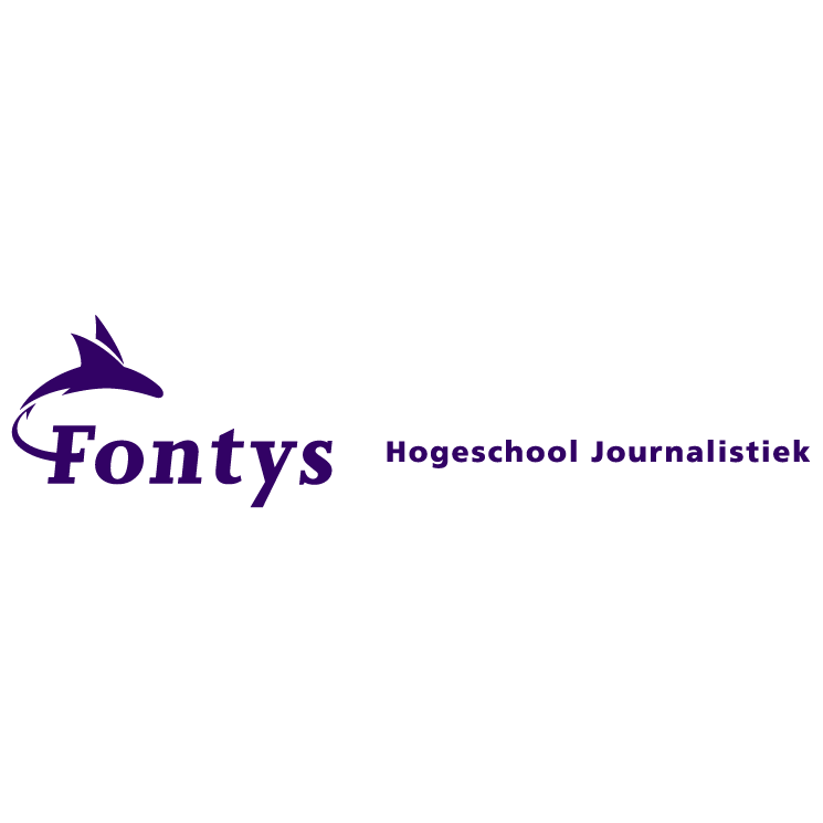 free vector Fontys hogeschool journalistiek