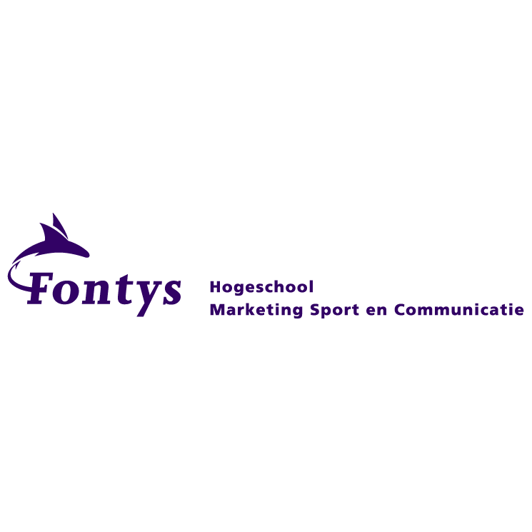 free vector Fontys hogeschool marketing sport en communicatie