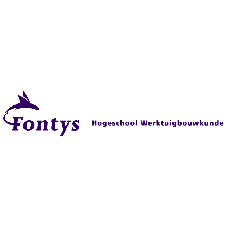 free vector Fontys hogeschool werktuigbouwkunde