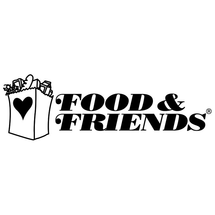 free vector Food friends