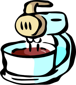free vector Food Mixer clip art