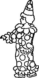 free vector Fool Clown clip art