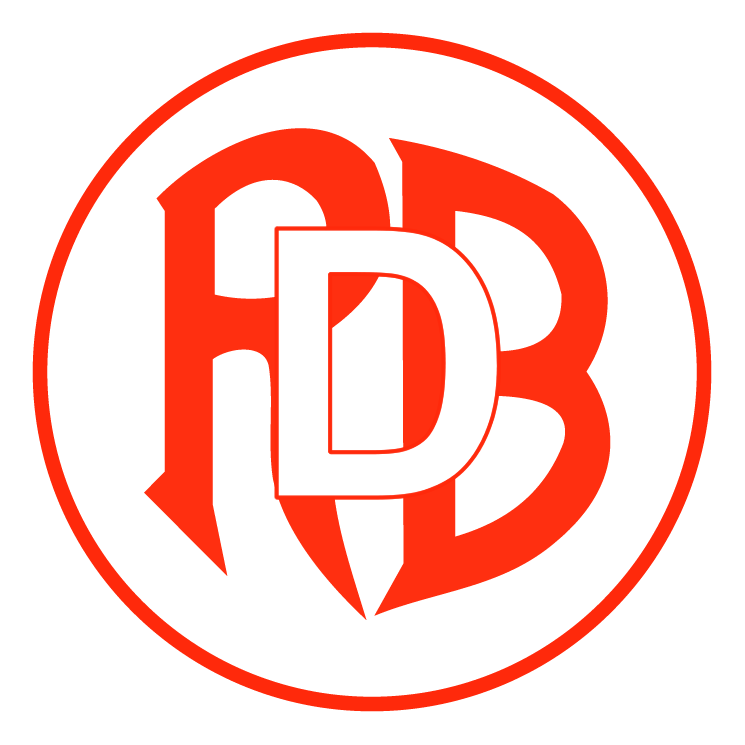 free vector Football association red boys differdange