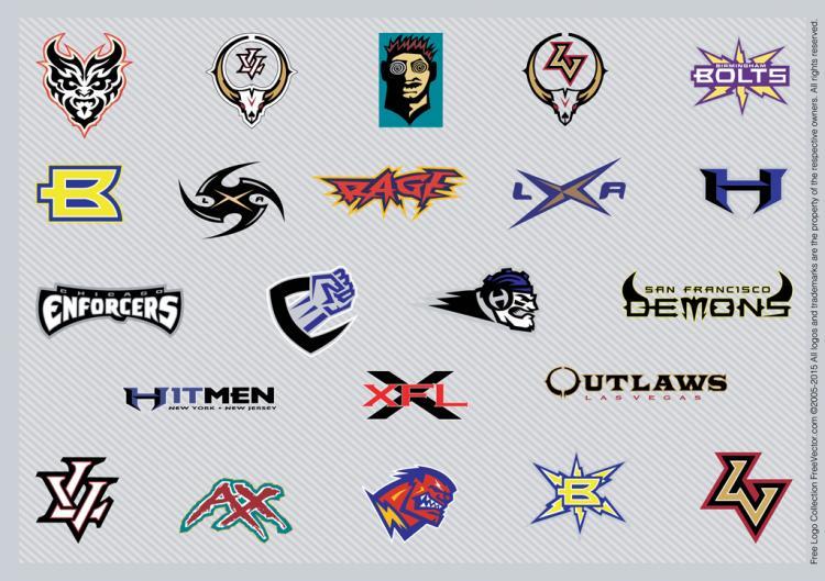 free vector Football Logo Inspiration