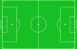 free vector Football Pitch clip art