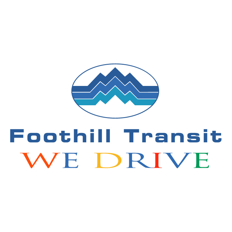 free vector Foothill transit