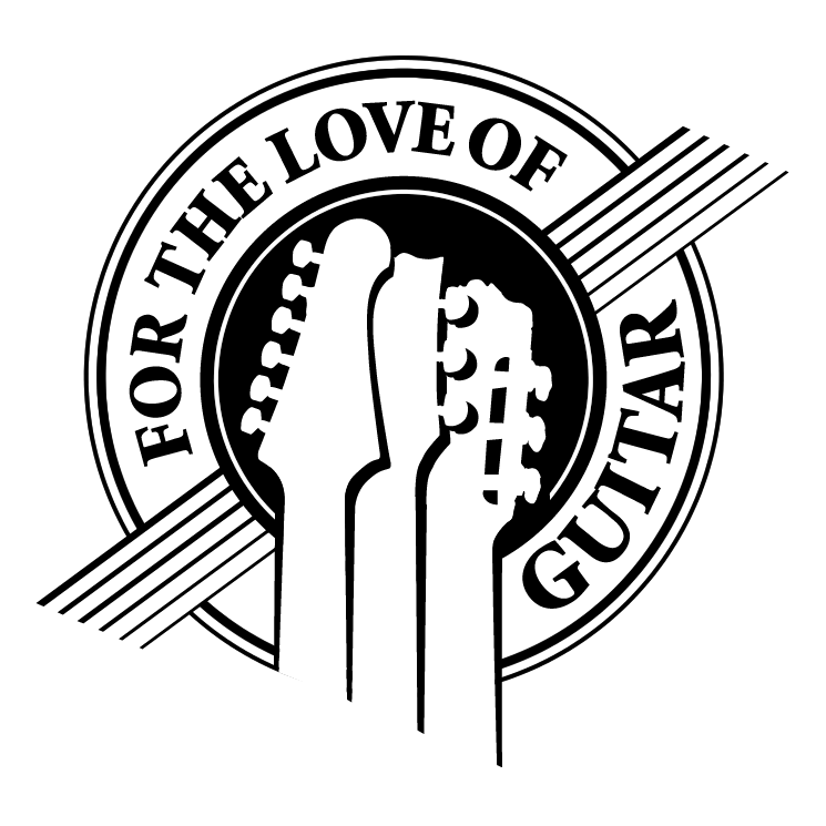free vector For the love of guitar