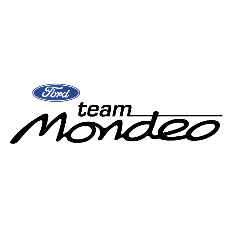 free vector Ford mondeo team