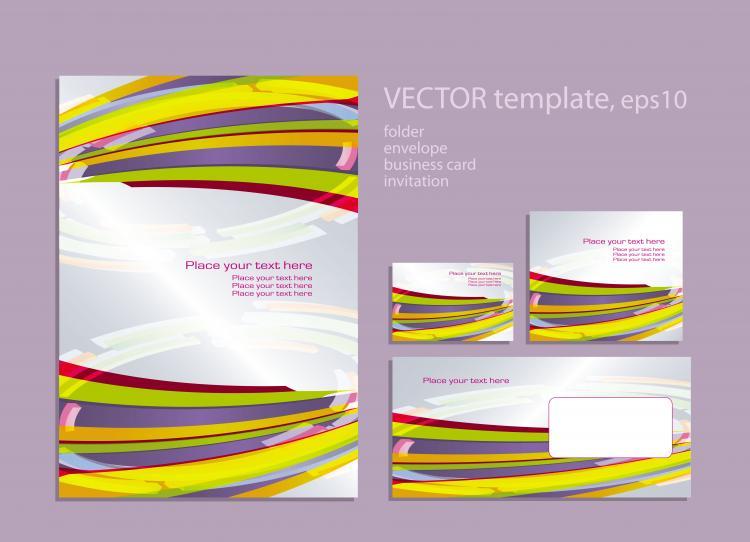 free vector Foreign book design 02 vector